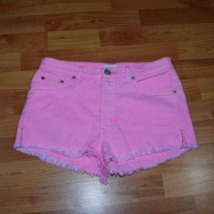 HUDSON TORI SLOUCH Women's Sz 25 Frayed Shorts